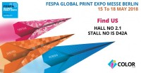 Fespa Global Print Expo Messe Berlin 15 to 18 May 2018