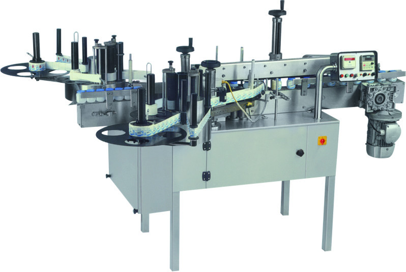 Front And Back Labeling Machine