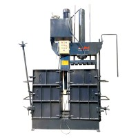 60 Ton Double Container Scrap Baling Press