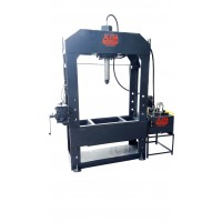 H- FRAME HYDRAULIC STRAIGHNING PRESS