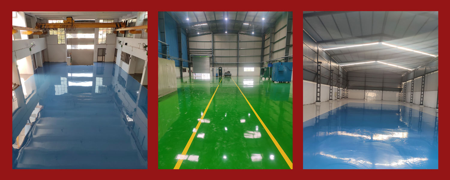 Industrial / Manufacturing Plants Service Provider Of Epoxy Flooring Service Industrial And Manufacturing Plants Work Continuously At Maximum Efficiency.