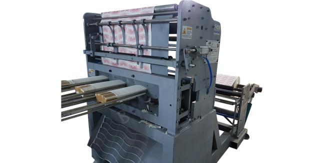 Automatic Paper Blank Plane Punching Machine