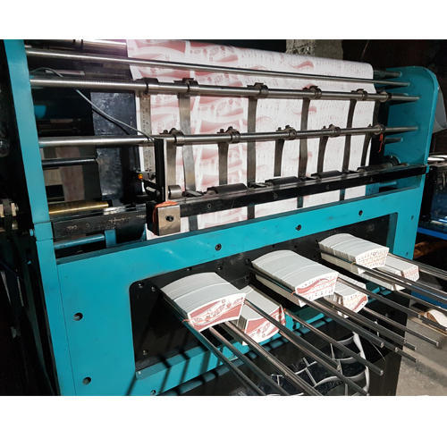 Automatic Paper Blank Printing With Punching Machine