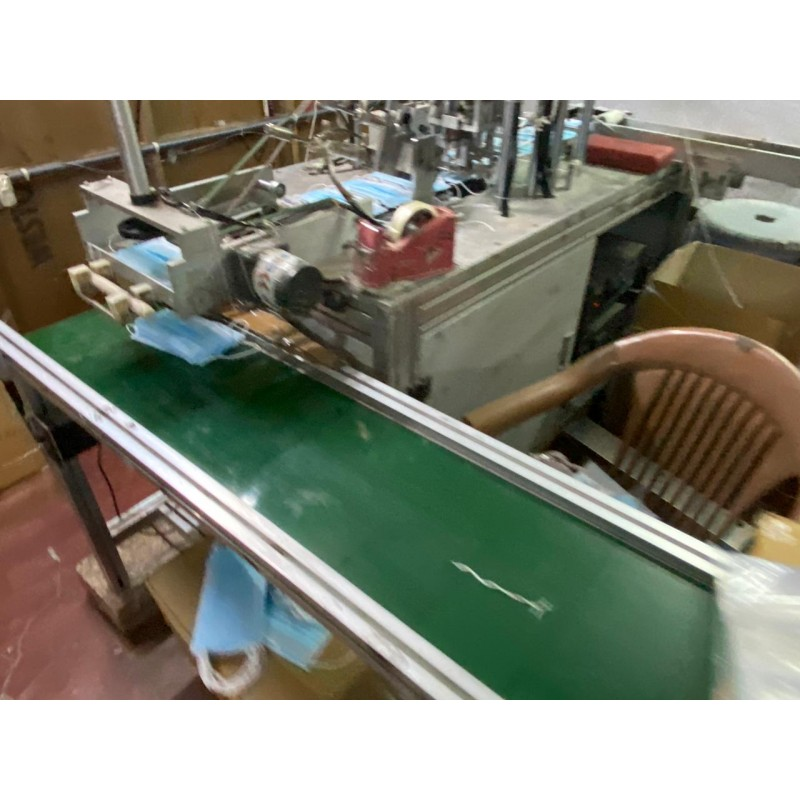 automatic mask making machine with duel looping elastic