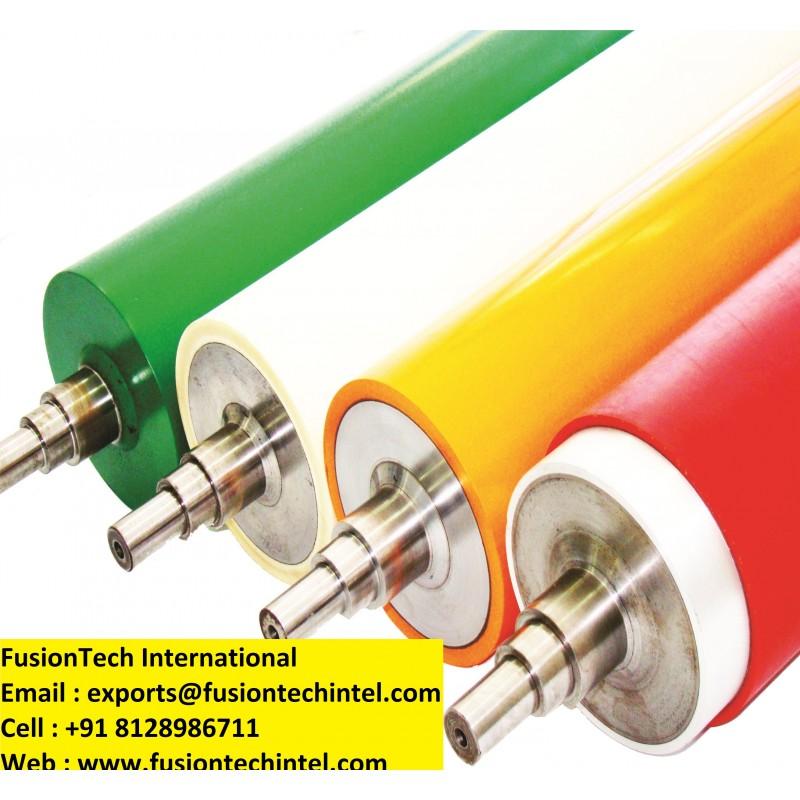 Roto Gravure Flexo Printing Machine Rubber Roller