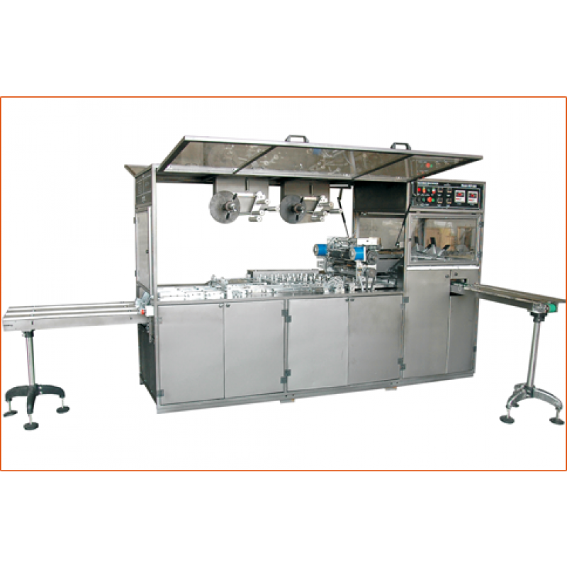 SOAP WRAPPING MACHINE - WRAPPEX KOHINOOR - DUEL PATH - DOUBLE TRACK  HIGH SPEED