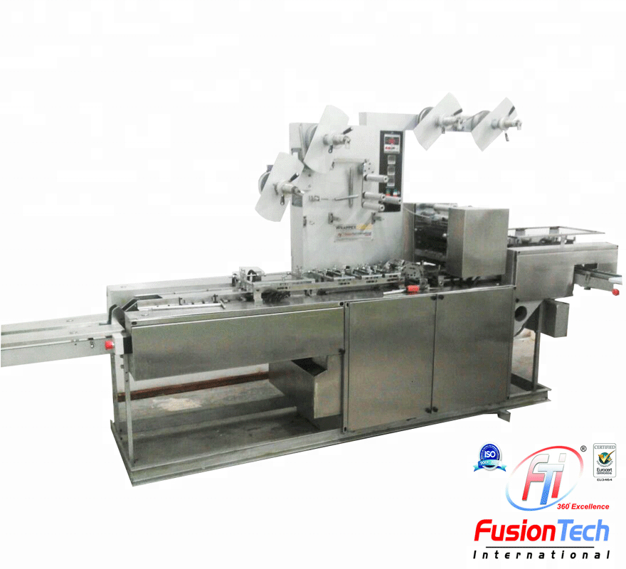 Soap Wrapping Machine - WrappexD Silver + (Servo Model)