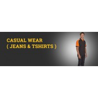 CASUAL WEAR ( JEANS & TSHIRTS )