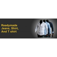 Readymade Jeans, Shirt, And T Shirt