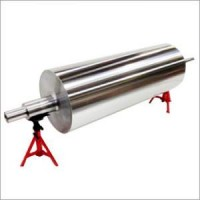 STAINLESS STEEL ROLL WITH HARD CHROME PLATING