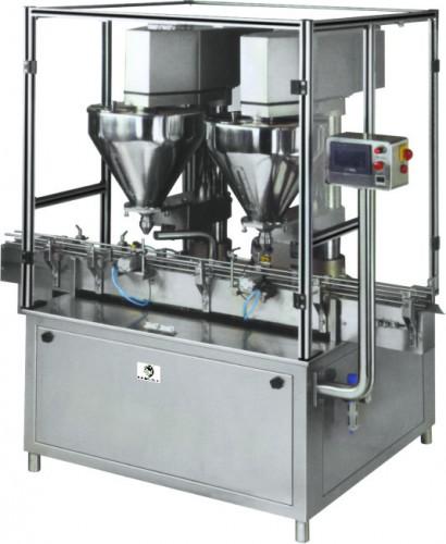 Double Head Auger Powder Filling Machine