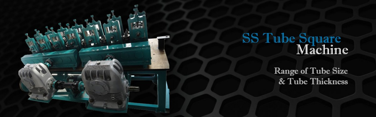 Stainless Steel Tube Square Machine