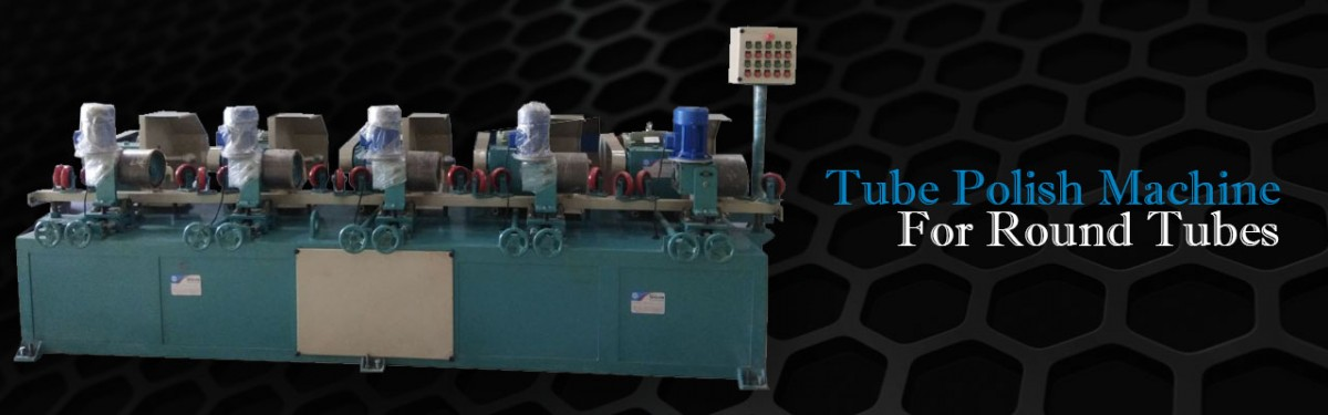 Tube Polish Machine For Round Tubes